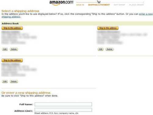 Amazon доставка
