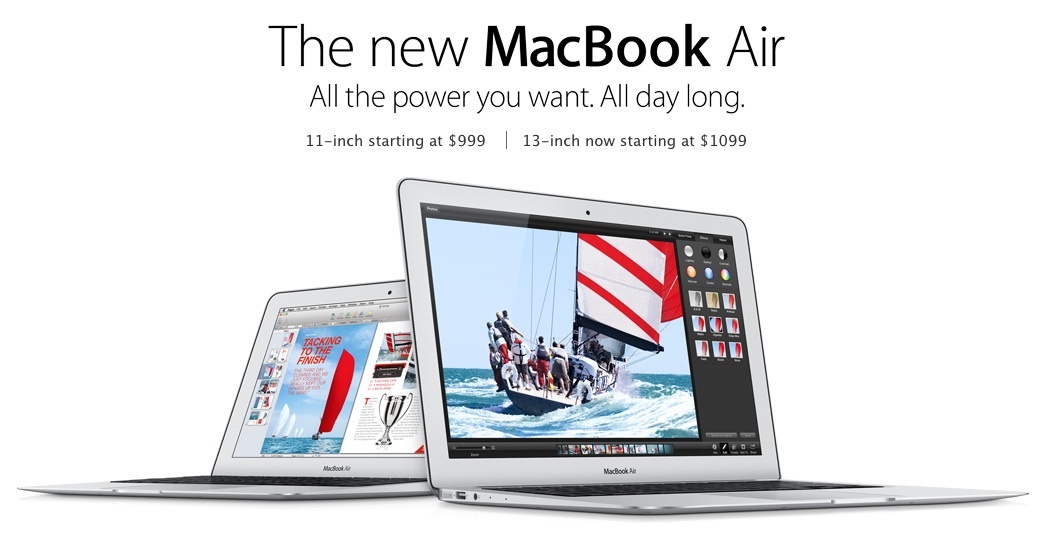 01 The new MacBook Air 2013
