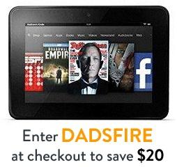 Amazon Kindle $20 discont