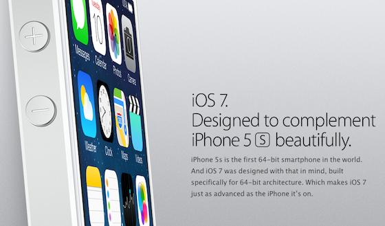 iOs 7 Apple iPhone 5s