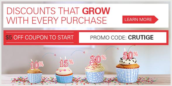 eBay promo code CRUTIGE
