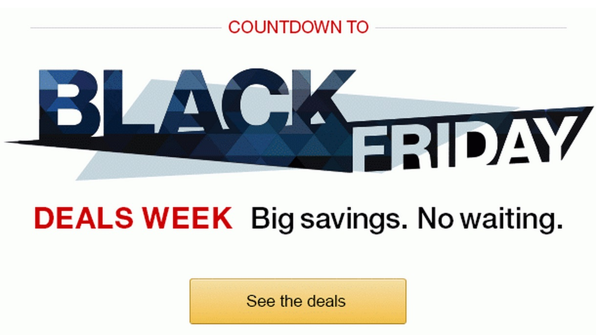 Amazon Black Friday 2014